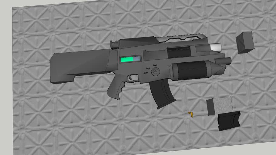 "APR-700 ""Pounder"" Automatic Pulse Rifle"