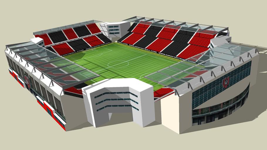 futuro estadio de chacarita juniors ,   ( argentina )