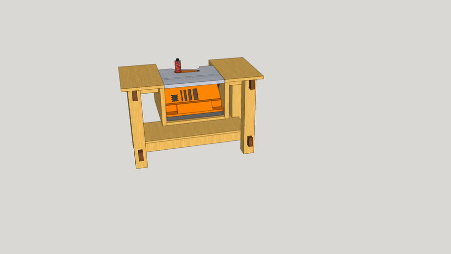 Sanding Station Work Bench Module