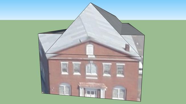 Building in Portsmouth, VA, USA