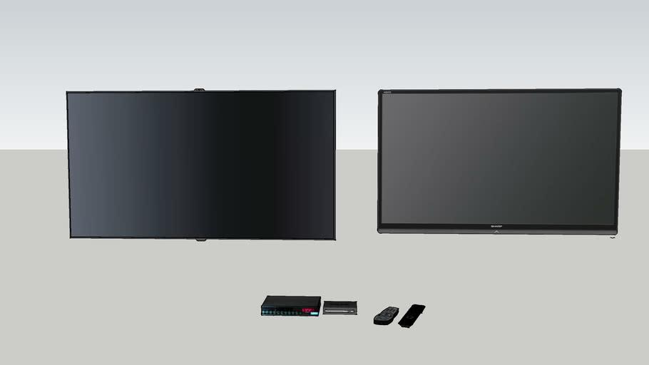 TV's / Decodificador / Modem / Controles