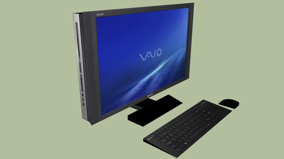 Sony VAIO RT Series Black All-In-One Desktop Computer