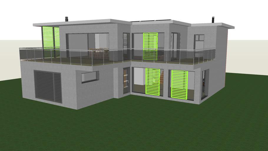 Maison Villa Moderne Casa 3d Warehouse