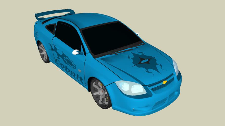 Modded Chevy Cobalt for Camaro Kids Chev Contest