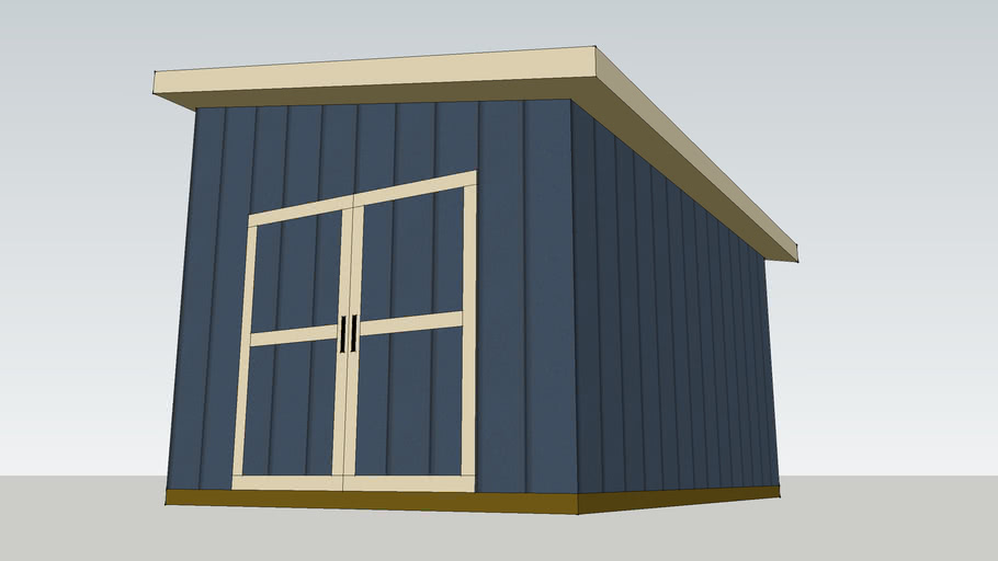 10 X14 Shed