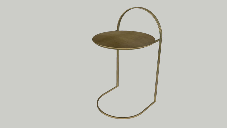 By-Boo Sidetable Garcon-Brass
