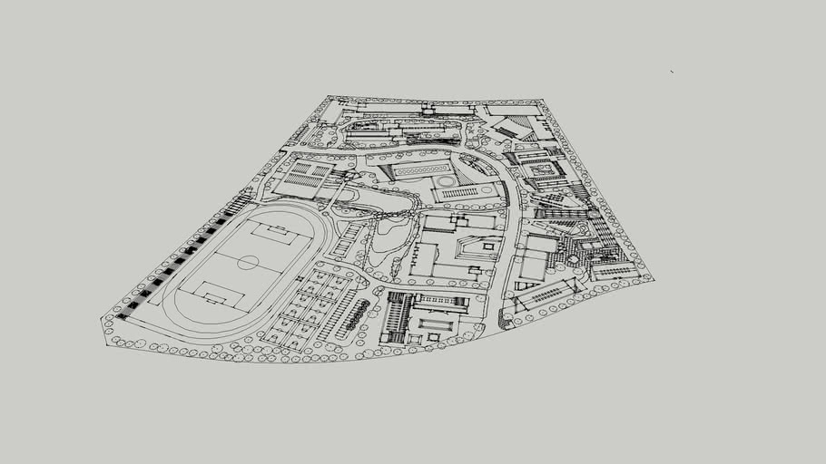 校园规划平米那图