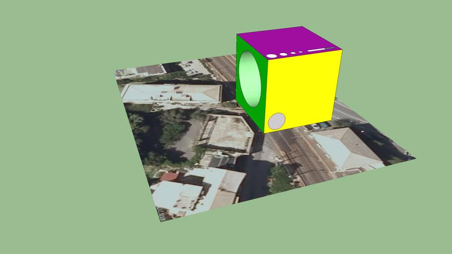 20x20x20m Cube
