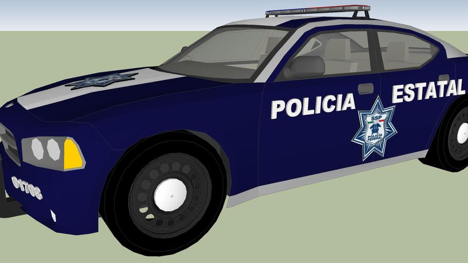 patrulla secretria de seguridad publica policia estatal aguascalientes