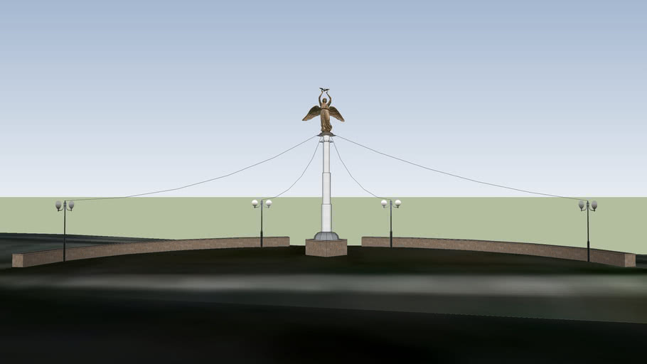 Архитектурно-парковая композиция «Добрый Ангел Мира»