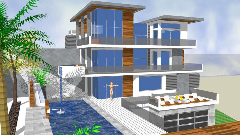 Modern Bio House 2