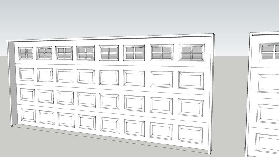 DCD Raised Panel Garage Doors