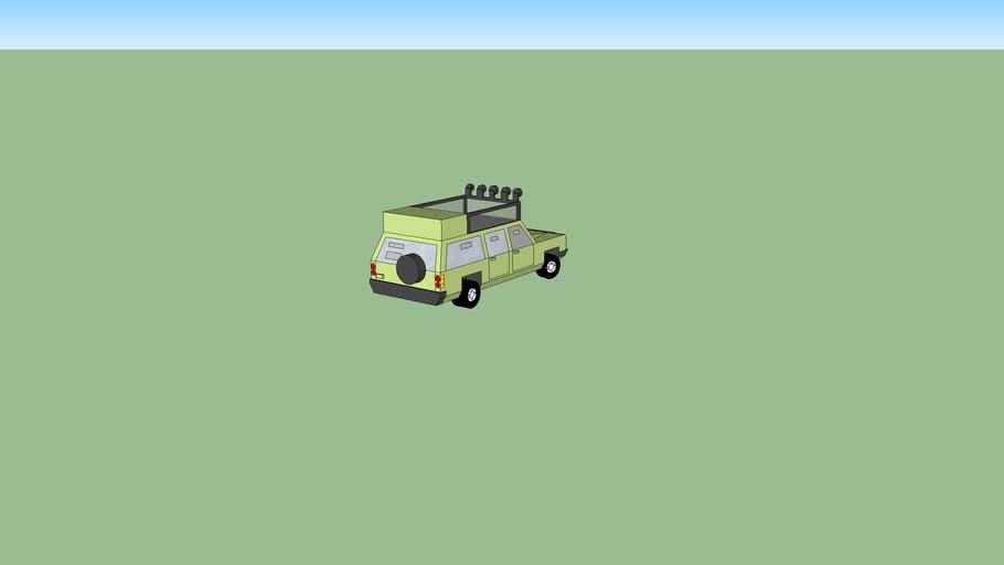 Modified Military SUV