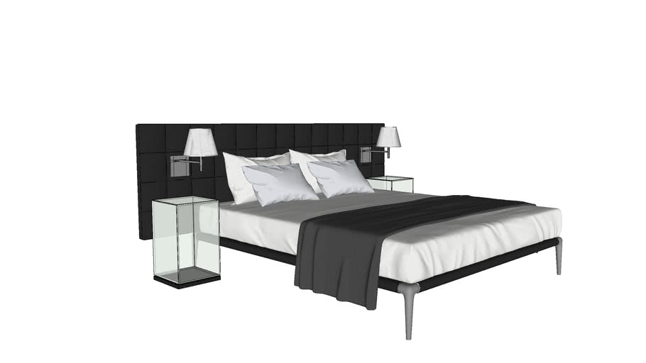 Cassina L26/27 Volage Bed