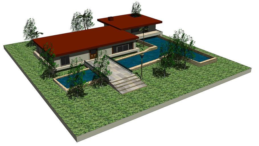 Casa de bosque