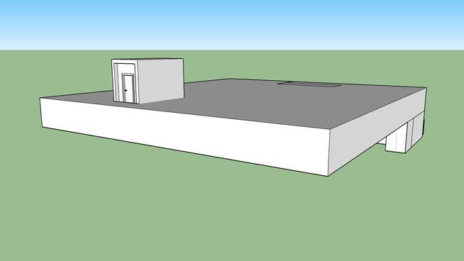 Dream house- bomb shelter- in progress