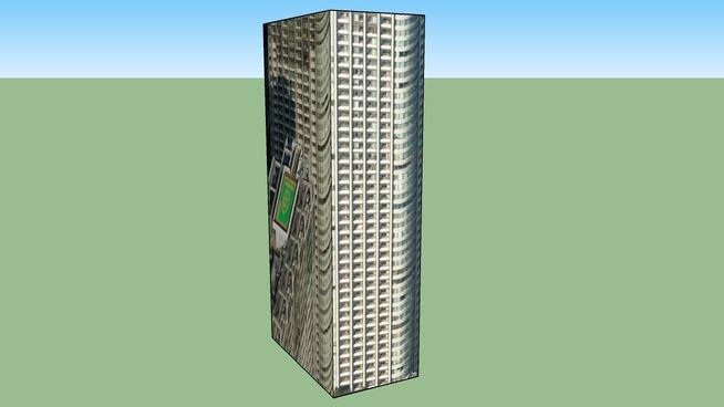 此建築物位於 〒105-7223