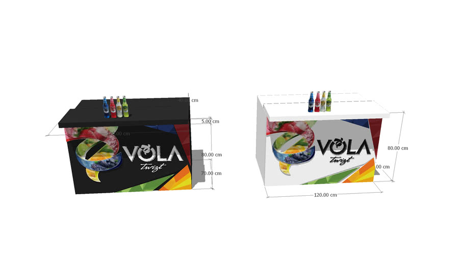 Vola Twizt Bar System บาร์พับ