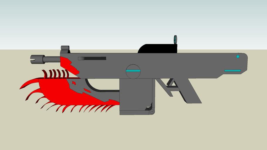 K-2  Saw Happy Assualt Rifle updated
