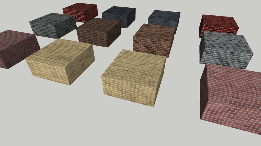 V-Ray Procedural Brick Textures