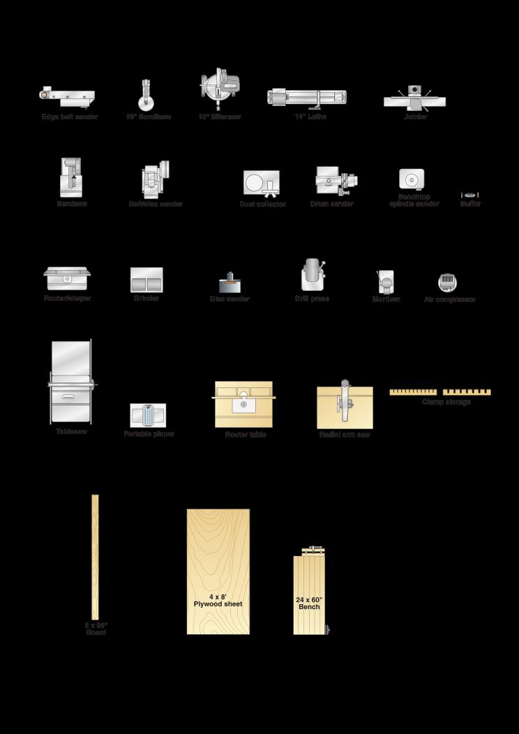 2D Template for Workshops (Шаблоны для мастерской)