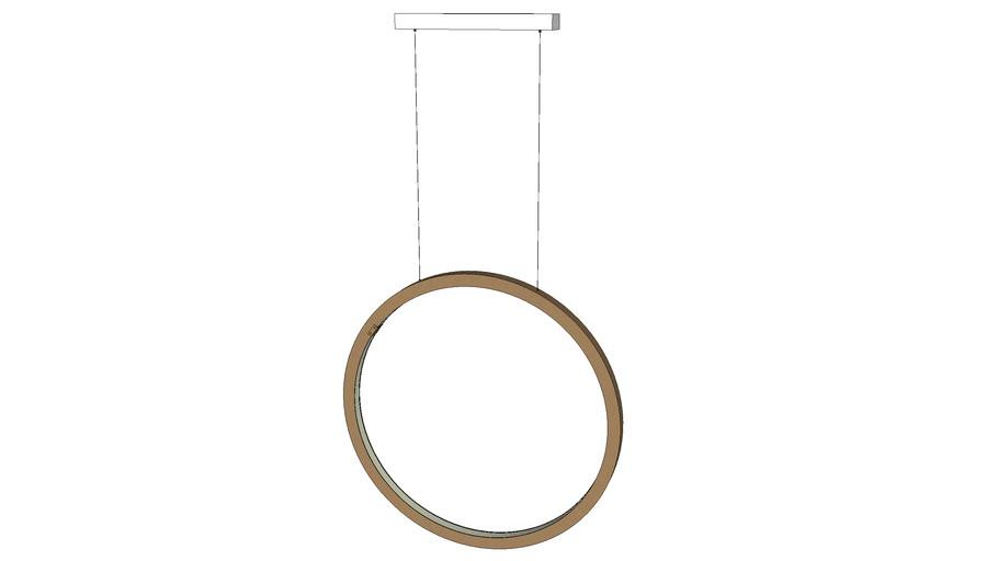 jacco maris | brass-O suspension lamp circle vertical 70cm