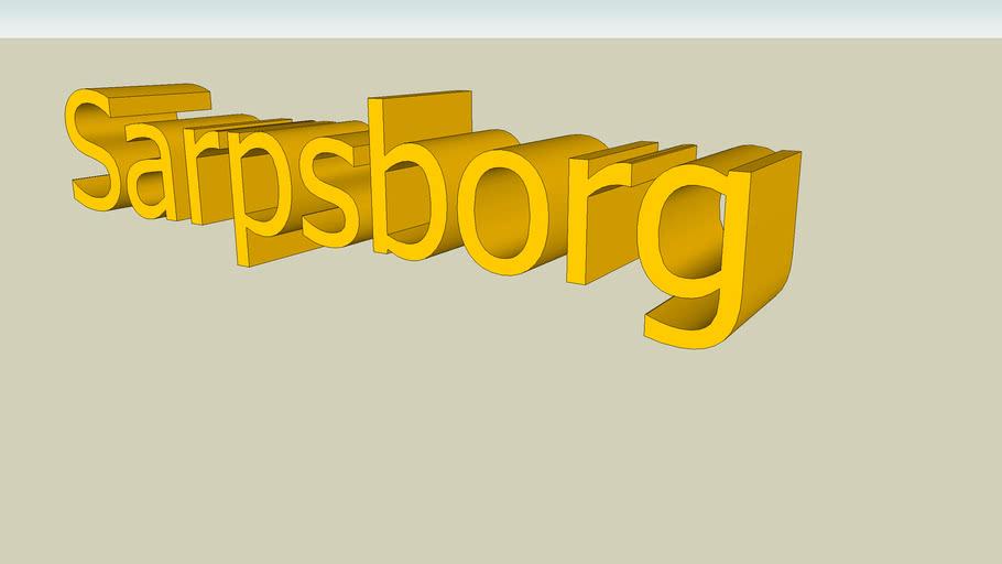 Sarpsborg name