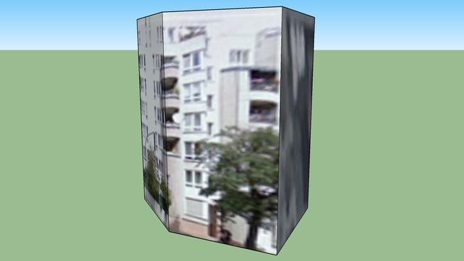 Модел на сграда