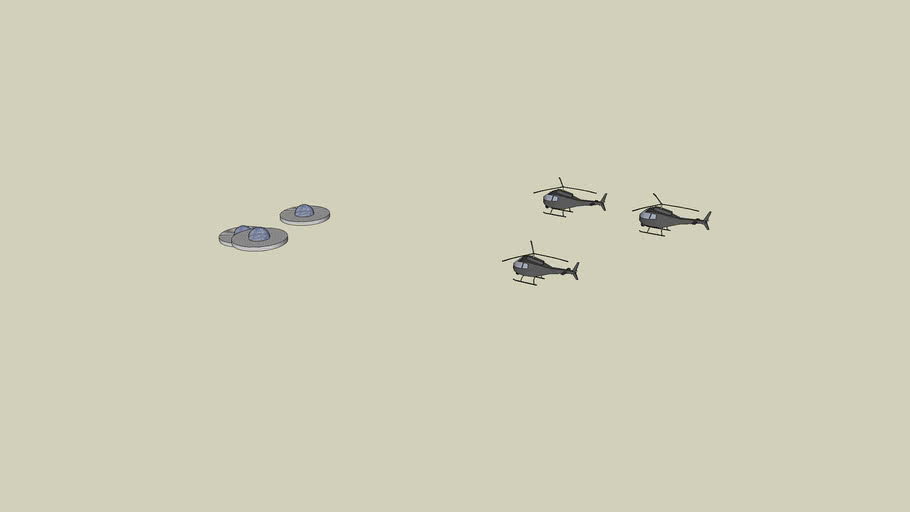 UFOs vs Helicopters
