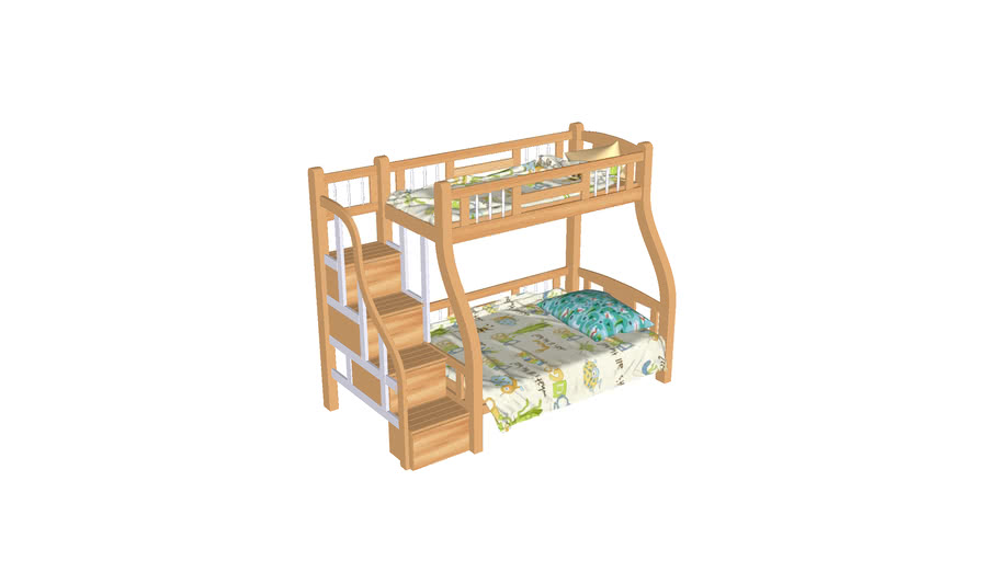 Bed childrens bunk