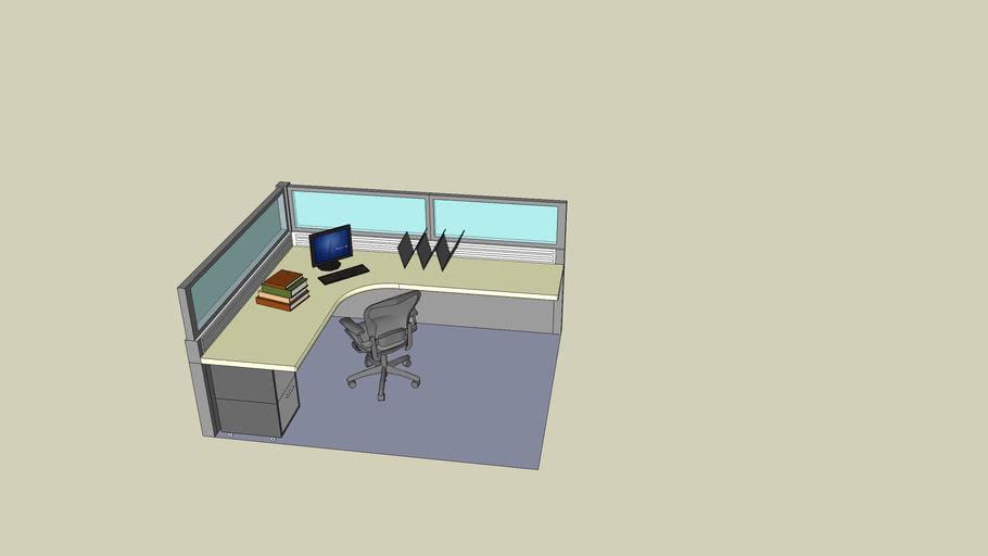 7x9 Cubicle Workstation