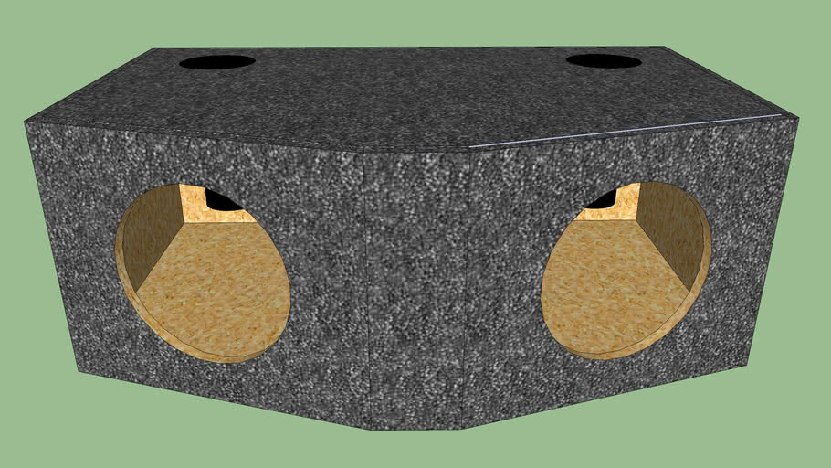 Rockford Fosgate Punch HX2 Wedge Box