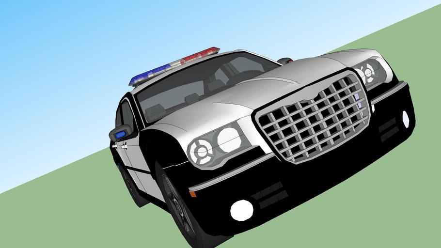 SKPD Chrysler 300 Police Cruiser