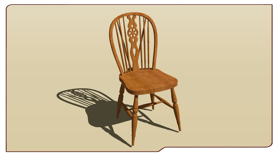 Traditional English Spindle Chair