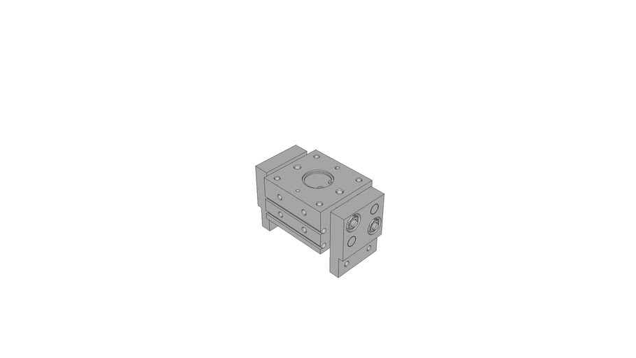 Wide Opening Parallel Gripper Series CGL Magnetic Sizes 10-16-20-25-32