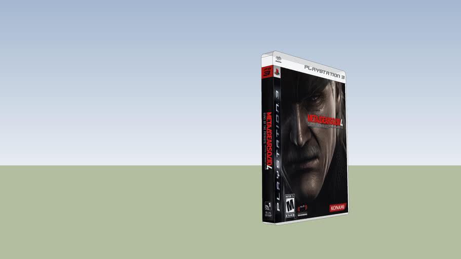 Metal Gear Solid 4 (PS3 Blu-Ray)