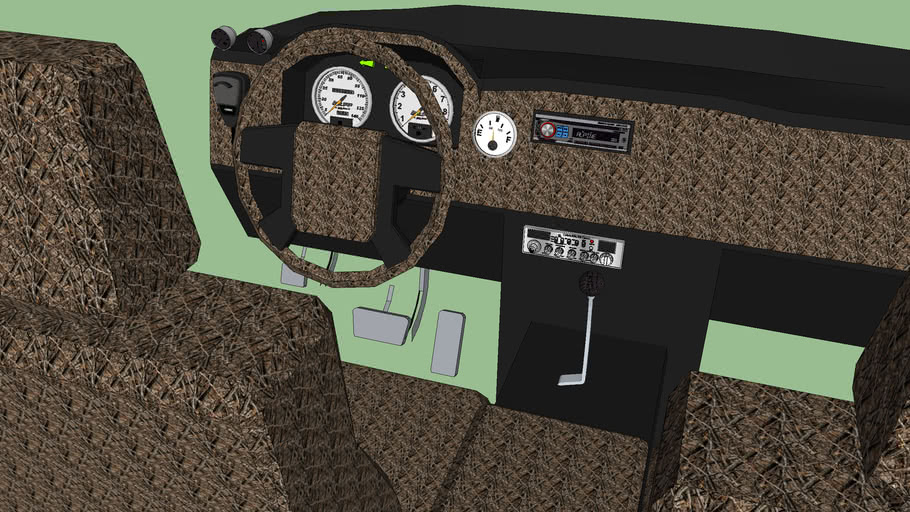 Regular Cab Truck interior (86 Custom Part 1)