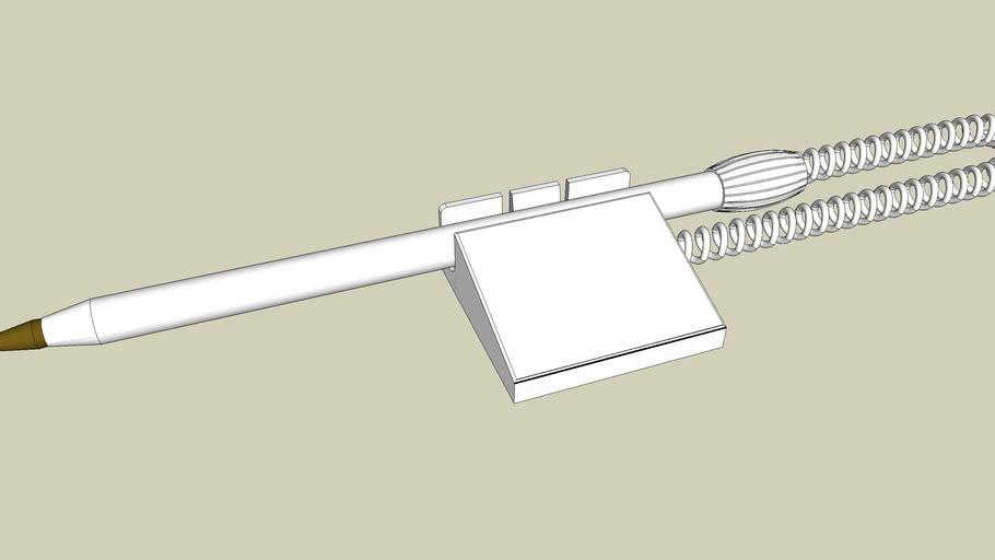 CF1 Caneta Fixa Carag externa
