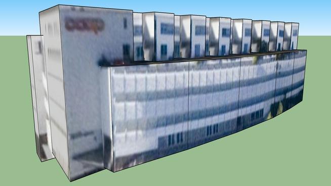 Coop Gebäude in Zürich, Schweiz
