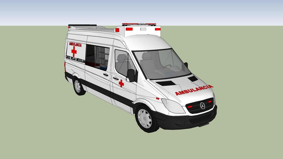 cruz roja mexicana de leon guanajuato ambulancia