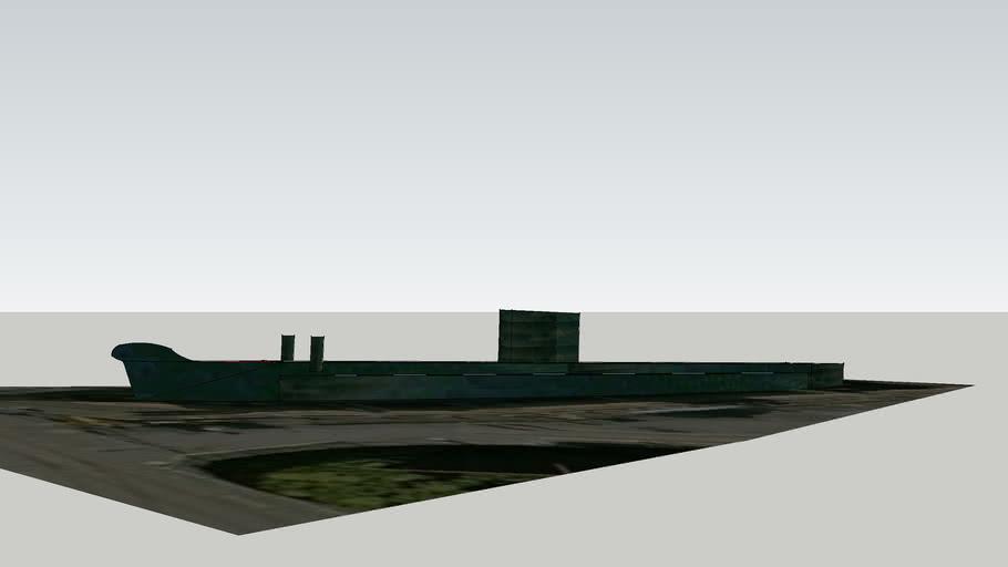 static submarine at chatham dock yard