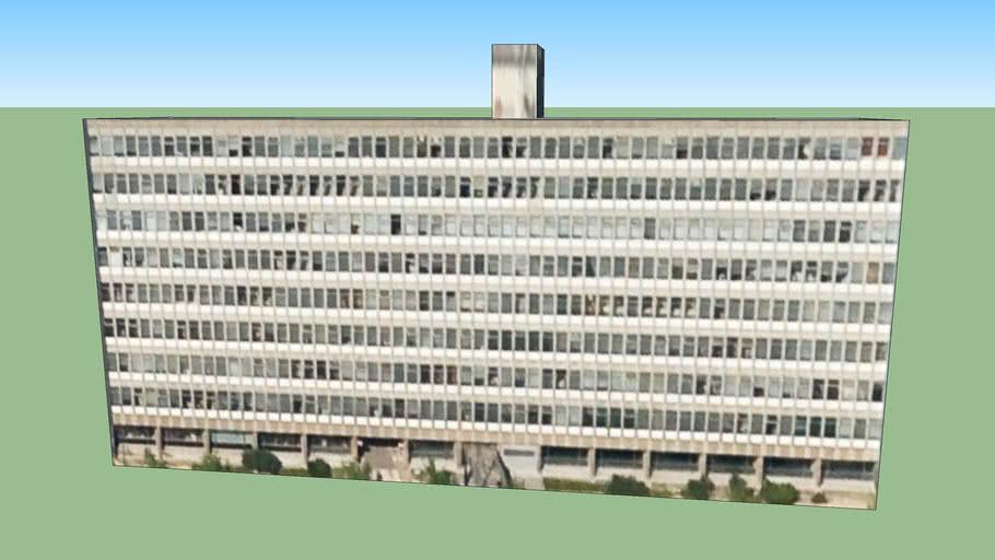 Bâtiment Physique, Building in Brussels, Belgium