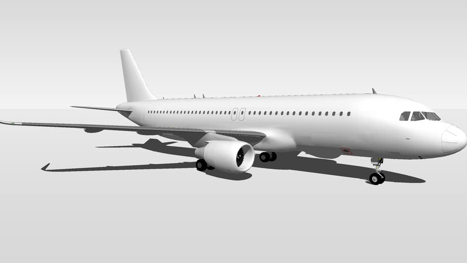 Template Airbus A320-200 Sharklet V1.5
