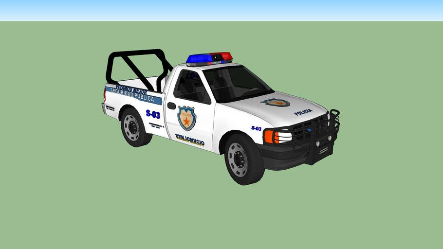 patrulla s-03 de seguridad publica policia municipal de san ignacio cerro gordo jalisco mexico