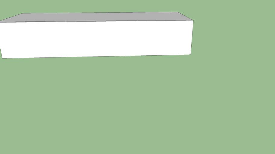 light élèment sol ou susp. 20,9x 112,4x 42 tir ou pte