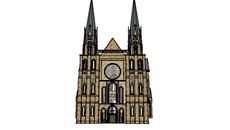 Gothic Architecture in Sketchup