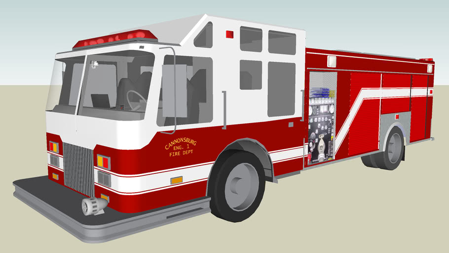 Cannonsburg Fire Eng 1