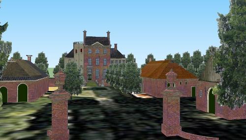 Reconstructie Dijksterhuis Pieterburen