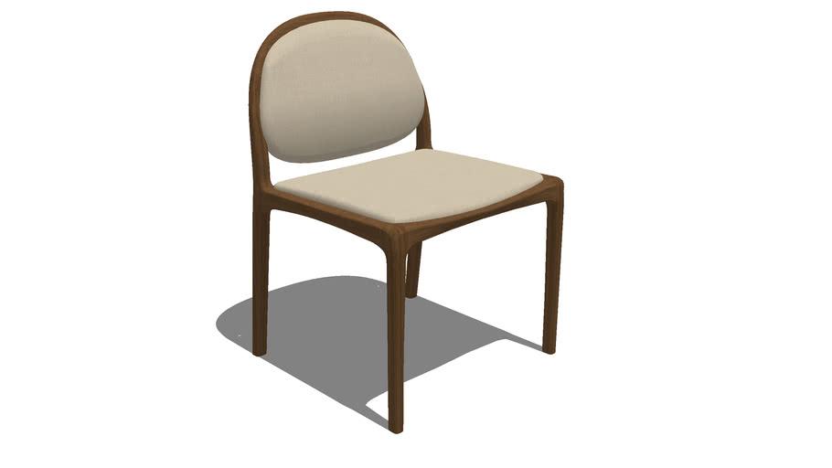 Cadeira Milà sem braço - Rejane Carvalho Leite