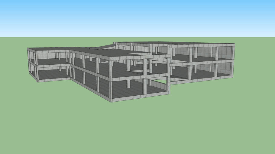 modelo torre de parqueaderos